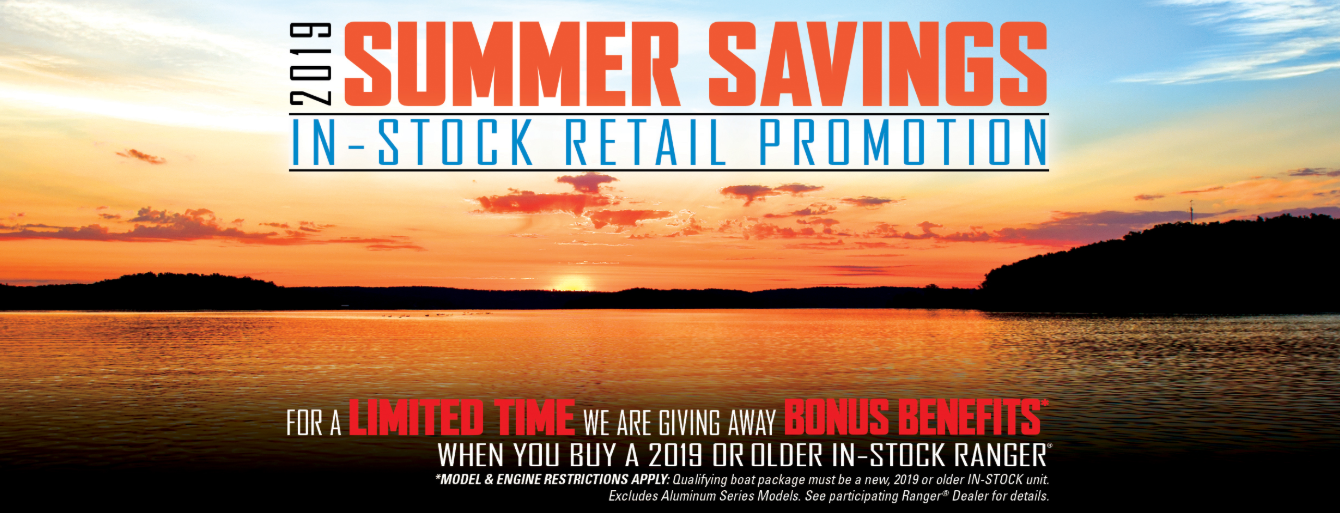 2019 Ranger Summer Savings